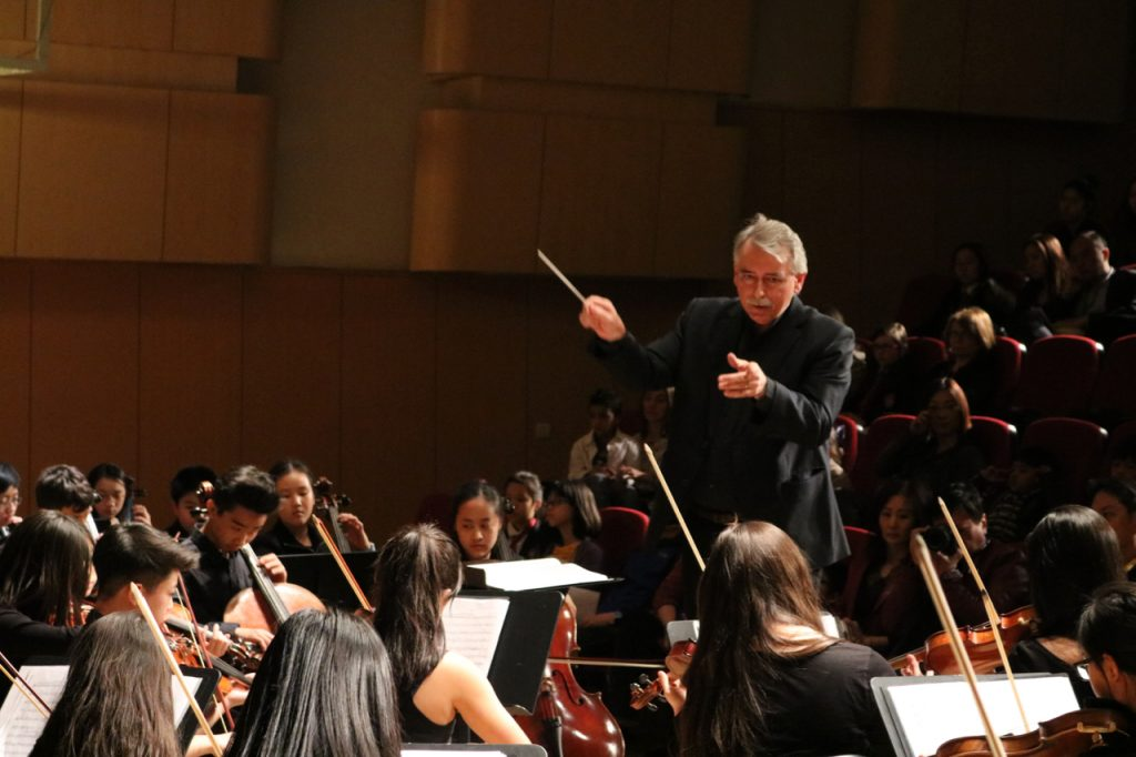 Conducting DCB Symphony Orchestra, October 2016